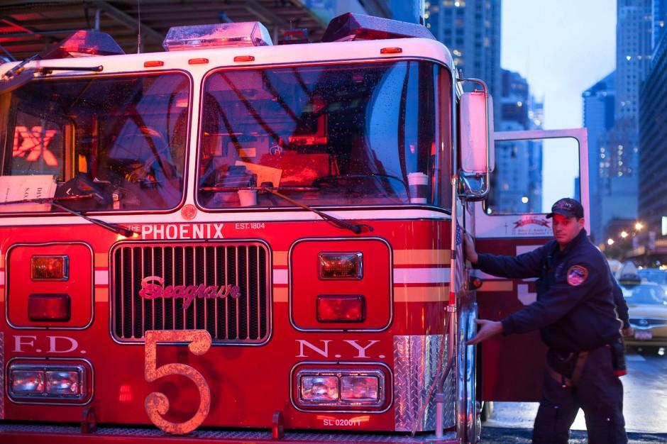 Pompier à New York