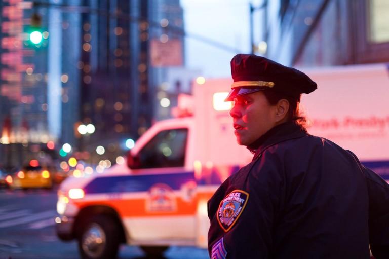 Police à New York